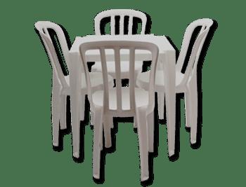 mesa-plástico