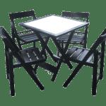 conjunto-mesa-madeira-tampo-branco