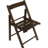 Cadeira de Madeira Dobrável Imbuia