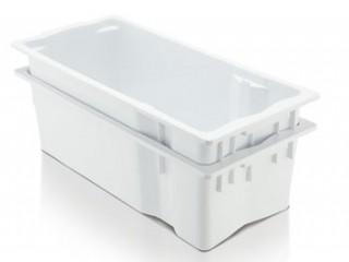 Caixa Plástica de Leite Branca 26 Litros |