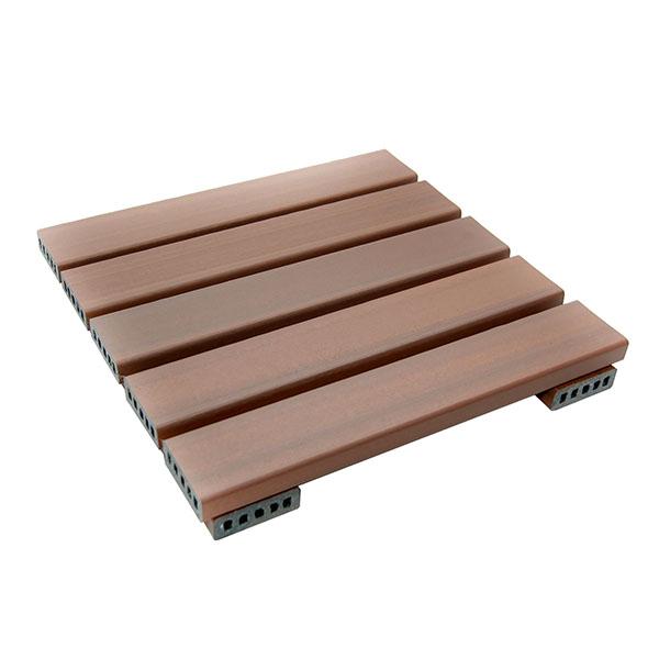banco de jardim em madeira plástica:Início » Pallet de Plástico » Deck Modular de Madeira Plástica 50