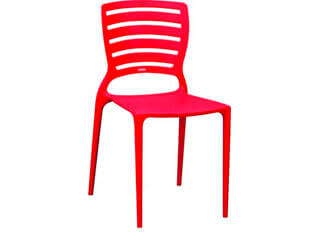 cadeira tramontina sofia vermelha