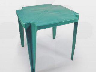 mesa de plástico plastex verde