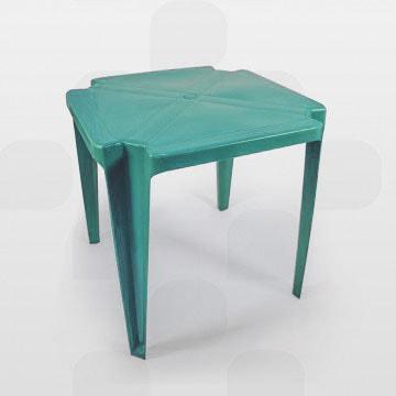 Mesa de Plástico Plastex Vermelha - Encontre aqui na Loplast Vendas