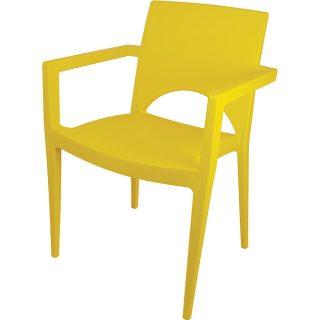 Poltrona Casabella amarela