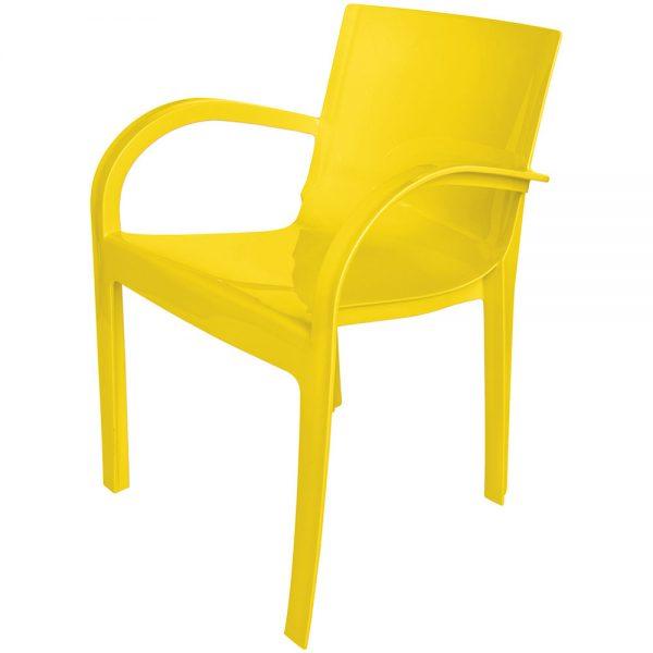 Poltrona Tauros amarela