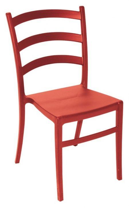 Cadeira Tramontina Nádia Vermelha