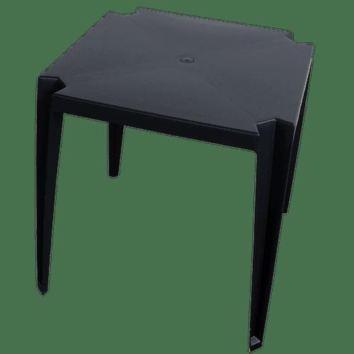 mesa de plastico goyana preta